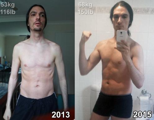 Chris Weight gain